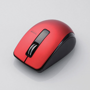 It supports Bluetooth®4.0 oriented to electric power saving, and battery life improves! It releases BlueLED wireless mouse 2 product which it is easy to grasp in H fitting hand
