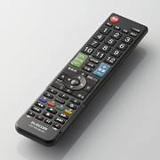 We correspond to TV of 12 makers used in the country and are usable immediately just to input setting number! It releases multi-TV remote control in pursuit of easiness of grip