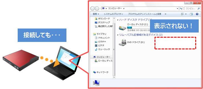 Windows コンピューター Pc に リムーバブルディスクが表示されない