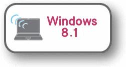 Windows8.1(Wi-Fi接続)