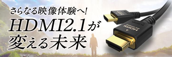 さらなる映像体験へ!HDMI2.1が変える未来