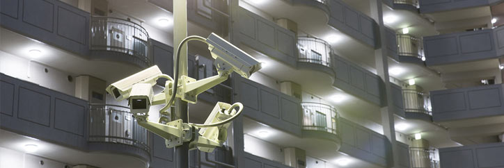 マンションに監視カメラを設置する際の注意点