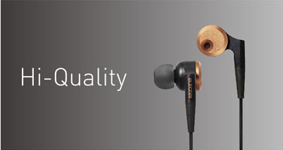 Earphone of high-quality sound