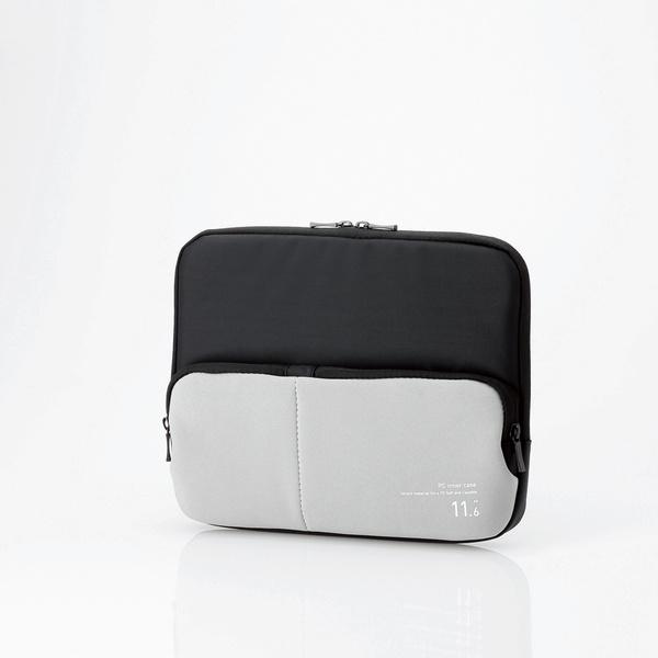 ポケット付きpcインナーバッグ bm ibpt11bk