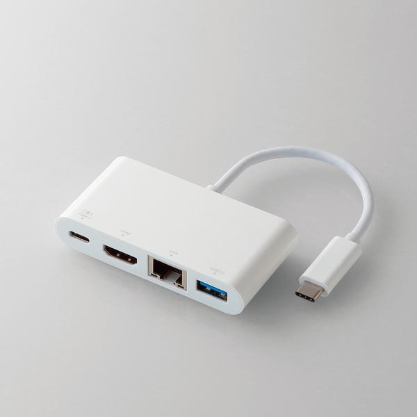 USB Type-C接続ドッキングステーション(PD対応)(DST-C02WH)