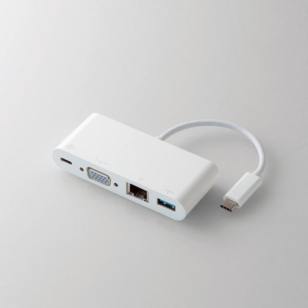 USB Type-C接続ドッキングステーション(PD対応)(DST-C03WH)