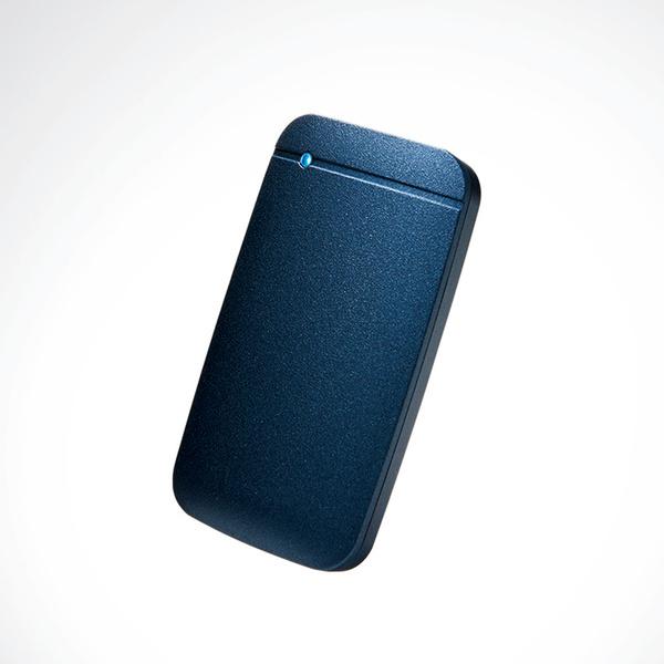 USB Type-Cケーブル付き外付けポータブルSSD
