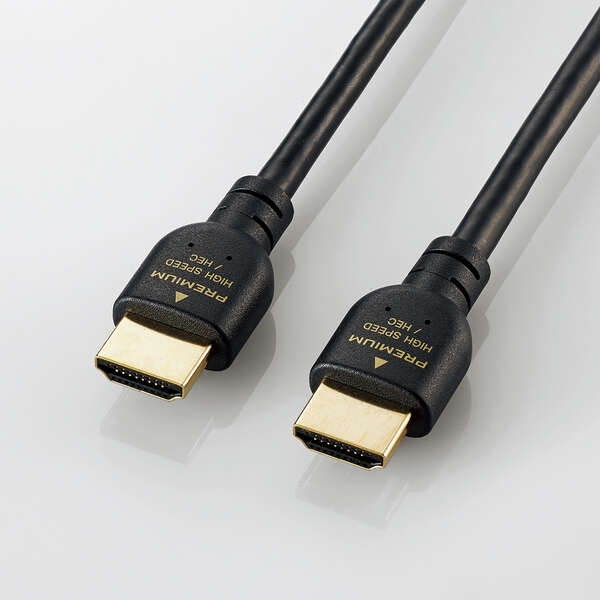 PREMIUM HDMIケーブル(スタンダード) GM-DHHDPS14EBシリーズ [4K 対応]
