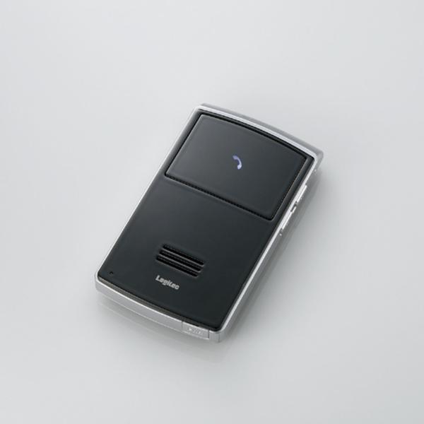 BluetoothSolarPower ハンズフリーCarKit:LBT-HF110C2 [ロジテック]【送料無料】