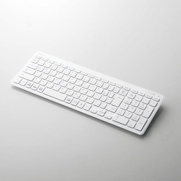 Bluetooth超薄型コンパクトキーボード