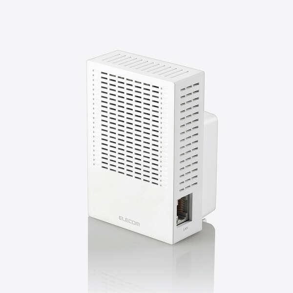 Wi-Fi 5(11ac) 867+300Mbps無線LAN中継器 WTC-C1167GC-W [11ac/n/a/b/g]