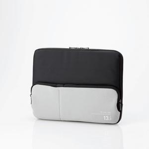 ポケット付きPCインナーバッグ(BM-IBPT13BK)