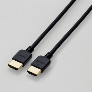 HIGH SPEED HDMIケーブル(やわらか)(CAC-HD14EY15BK)