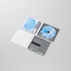 CD/DVD用スリム収納ソフトケース(CCD-DPC10BK)