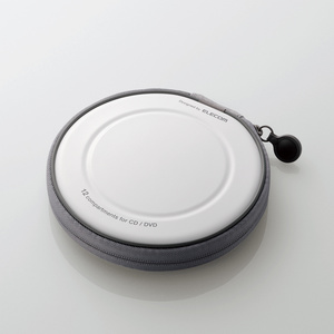 CD/DVDファスナーケース(CCD-H12WH)