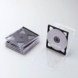 Blu-ray/DVD/CD case (standard /PS/2 piece storing) (CCD-JSCNW5BK)