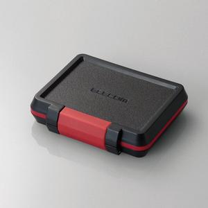 SD/microSDカードケース(耐衝撃)(CMC-SDCHD01BK)