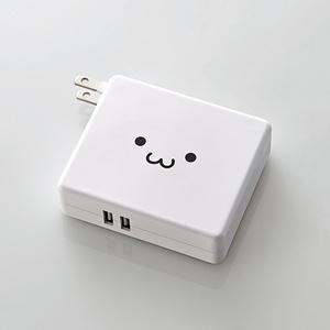 AC充電器一体型モバイルバッテリー(DE-AC01-N5824WF)
