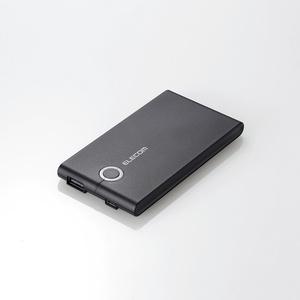 薄型モバイルバッテリー(DE-M01L-5024BK)