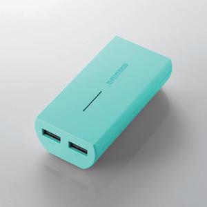 タブレット・スマートフォン用モバイルバッテリー(DE-M01L-5230GN)