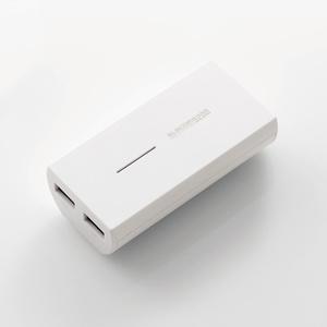 TYPE-Cケーブル同梱 モバイルバッテリー(DE-M01L-5230WHC)