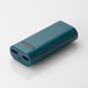 モバイルバッテリー(DE-M01L-6400BU)