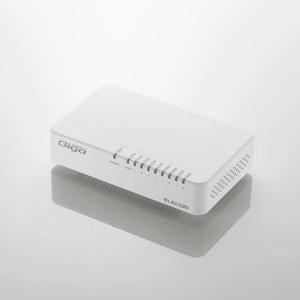 1000BASE-T対応スイッチングハブ(EHC-G08PA2-JW)