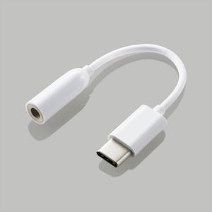 イヤホン・ヘッドホン用 USB Type-C変換ケーブル(EHP-C35WH)