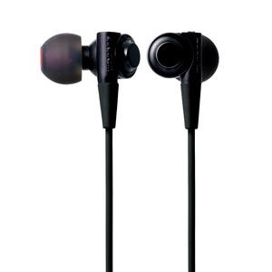 """Stereo headphones """"BLACK BLACK BLACK"""" (EHP-CB100ABK)"""