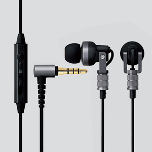 Stereo headphone mike (EHP-CH3000SBK) for smartphone
