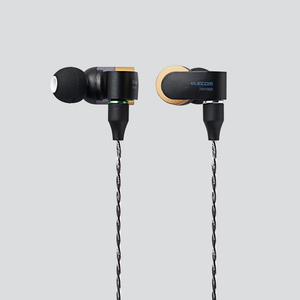 High resolution sound sourse-adaptive stereo headphones (EHP-R/HH1000ABK)