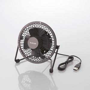 USB扇風機(金網モデル)(FAN-U30BK)