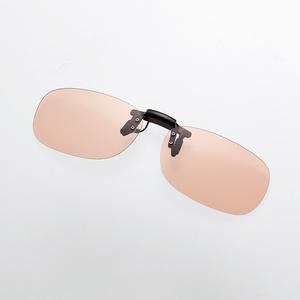 ブルーライト対策メガネ(跳ね上げクリップオン)(G-BUB-CF02MBK)