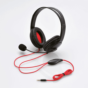 Stereo headset (GM-HSHP26BK) for exclusive use of PlayStation (R)4
