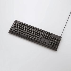 PS5・PS4 向け有線キーボード GM-TKFCM062BK [USB 接続(有線)]