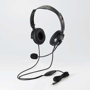 Headset (4 pole both ears folding overheads) (HS-HP20TBK)