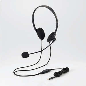 Headset (both ears small size overhead type) (HS-HP22TBK) for tablet