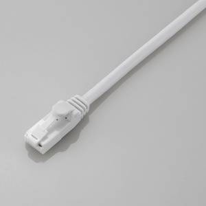 Prevention of Cat6-adaptive nail buckling up LAN cable (LD-GPT/WH1/RS)