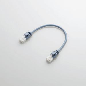 ツメ折れ防止やわらかLANケーブルCat6準拠(LD-GPYT/BU015)