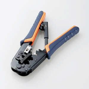 ラチェットタイプRJ45コネクタかしめ工具(LD-KKTR)