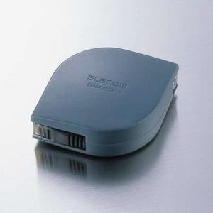 携帯用LANケーブル(2m)(LD-MCTF/BK2)