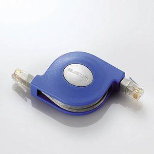 Cat5準拠携帯巻取LANケーブル(LD-MCTU/BU2)