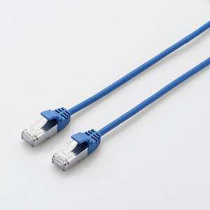 Category LAN cable (slim) (LD-TWSS/BU1) for 7