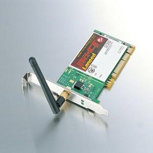 エアホークIEEE802.11a/g対応無線PCIボード(LD-WL54AG/PCI)
