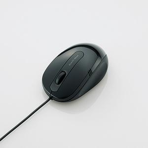 3ボタンBlueLEDマウス(M-BL16UBBK)