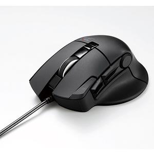 """DUX""MMOゲーミングマウス(10ボタン)(M-DUX30BK)"
