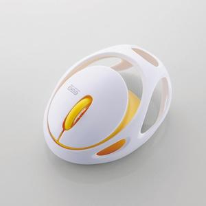Bluetooth(R)マウス EGG MOUSE FREE(M-EG30BRWH)