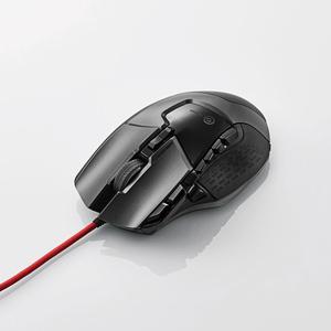 13ボタン搭載ハイスペックゲーミングマウス(M-G02URBK)