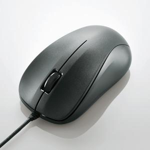 USB光学式マウス (Mサイズ)(M-K6URBK/RS)