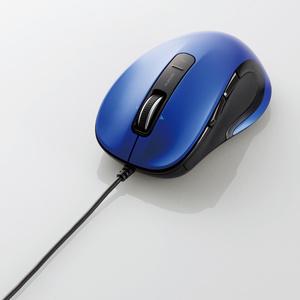 有線レーザーマウス(5ボタン・チルトホイール)(M-LS15ULBU)